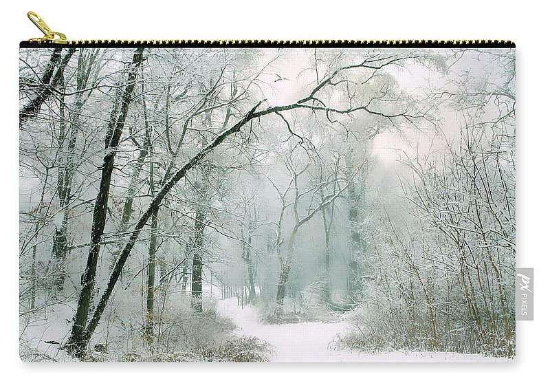 Winter Carry-all Pouch featuring the photograph Silence Of Winter by Jessica Jenney