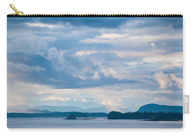 Alaska Carry-all Pouch featuring the photograph Silent Beauty by Zina Zinchik