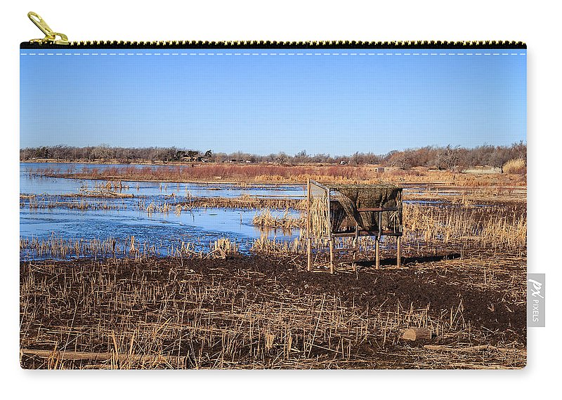 Landscape Carry-all Pouch featuring the photograph Silent Study by Doug Long