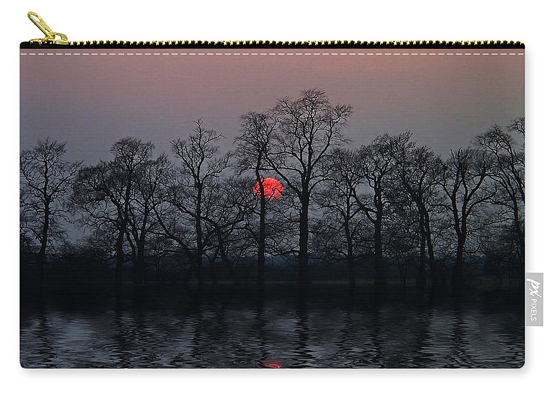 Sun Carry-all Pouch featuring the photograph Silent Sun by Joachim G Pinkawa