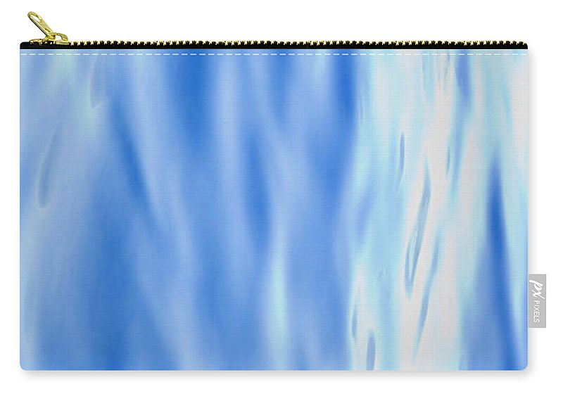 Abstract Carry-all Pouch featuring the photograph Silk by Theresa Tahara