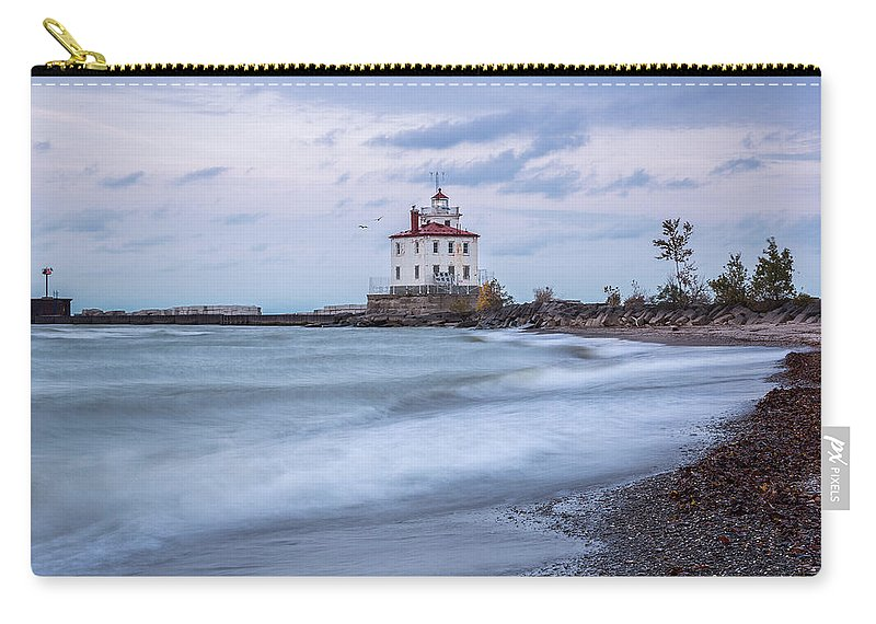 Silken Waves Carry-all Pouch featuring the photograph Silken Waves by Dale Kincaid