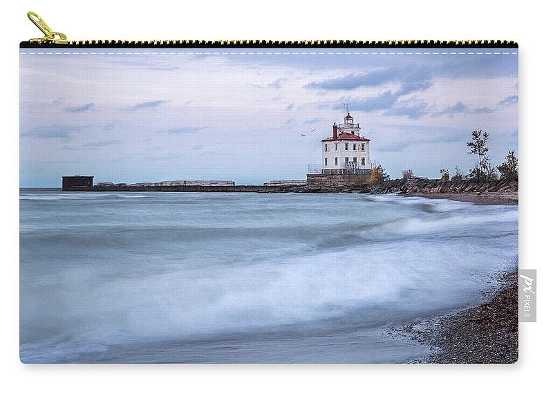 Silky Waves Carry-all Pouch featuring the photograph Silky Waves by Dale Kincaid