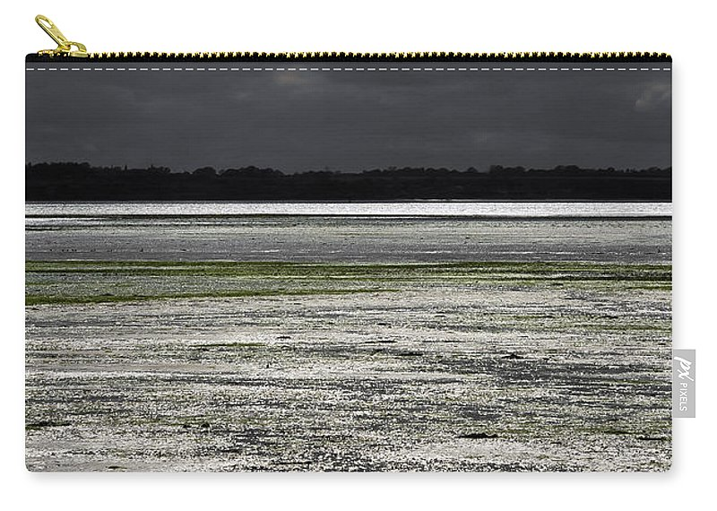Bay Carry-all Pouch featuring the photograph Silver Breeze by Svetlana Sewell