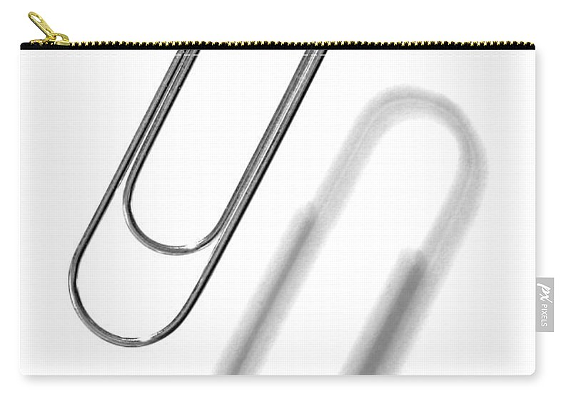 Paper Clip Carry-all Pouch featuring the photograph Simple Genius Paperclip 1 by Scott Campbell