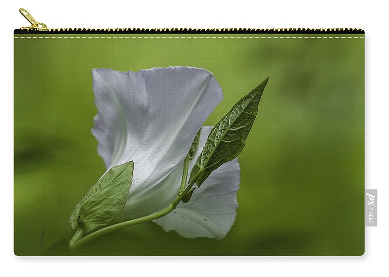 White Carry-all Pouch featuring the photograph Simple by Ronald Grogan