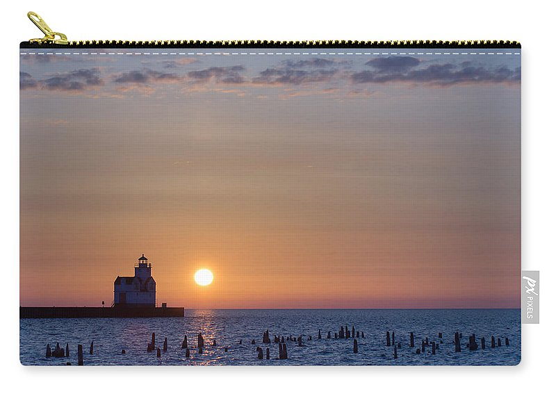Lighthouse Carry-all Pouch featuring the photograph Simple Start by Bill Pevlor