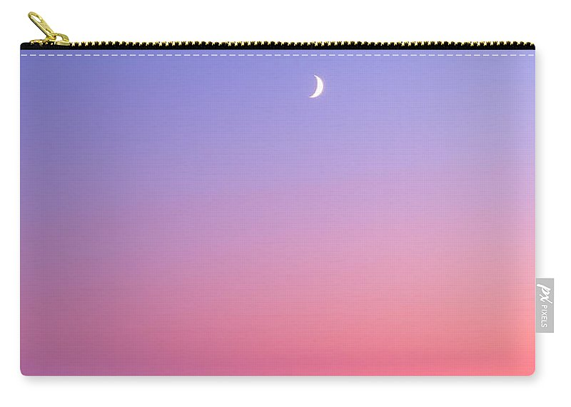 Moon Carry-all Pouch featuring the photograph Simplistic Wonders Of The Earth by Darren White