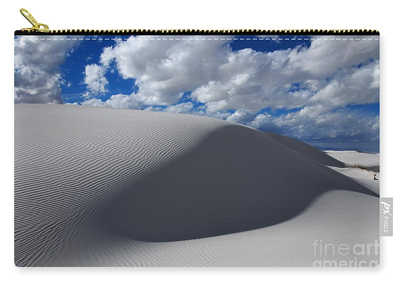 White Sands Carry-all Pouch featuring the photograph Simply Enchanted by Vivian Christopher
