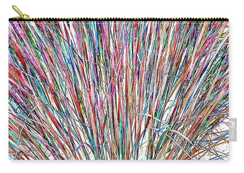Grasses Carry-all Pouch featuring the photograph Simply Grass 2 by Steve Harrington