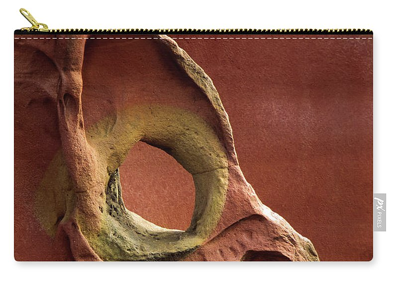 Geology Carry-all Pouch featuring the photograph Sinister Forms by By Mediotuerto
