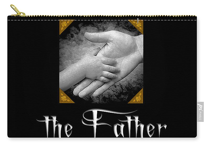 Book Cover Carry-all Pouch featuring the photograph Sins Of The Father Book Cover by Mike Nellums