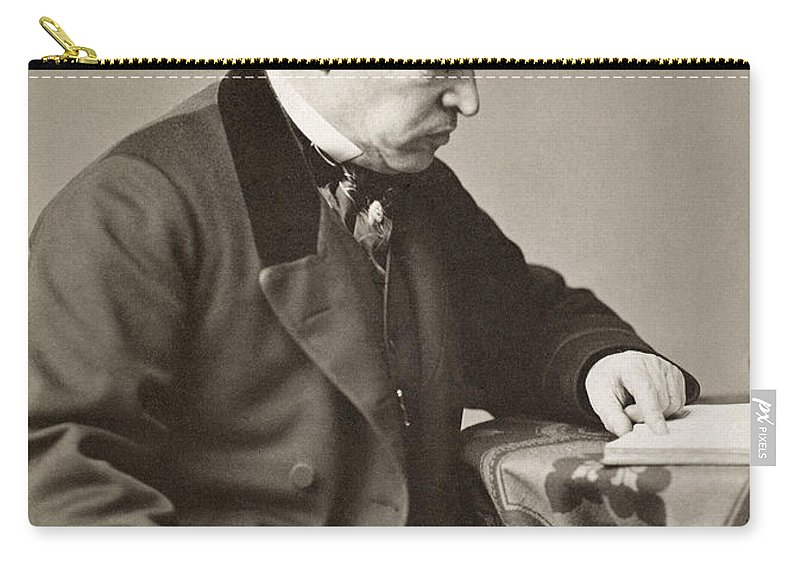 19th Century Carry-all Pouch featuring the photograph Sir William Jenner by Granger