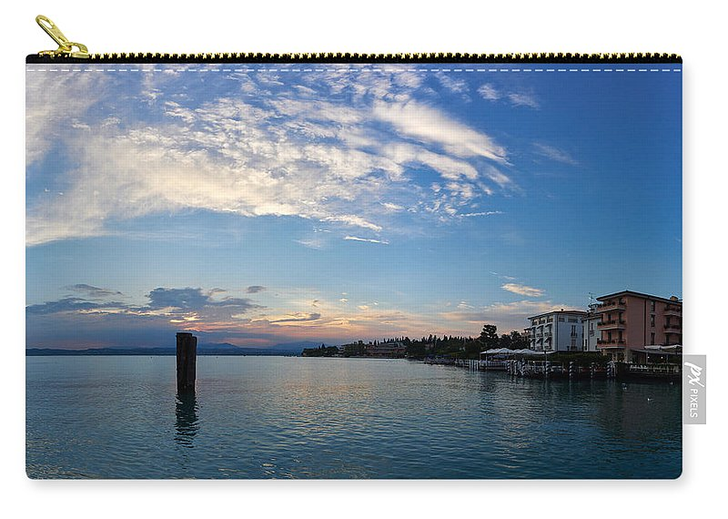 Francacorta Carry-all Pouch featuring the photograph Sirmione. Lago Di Garda by Jouko Lehto