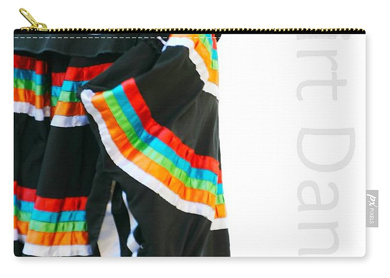 Dancing Carry-all Pouch featuring the photograph Skirt Dance by Diana Angstadt