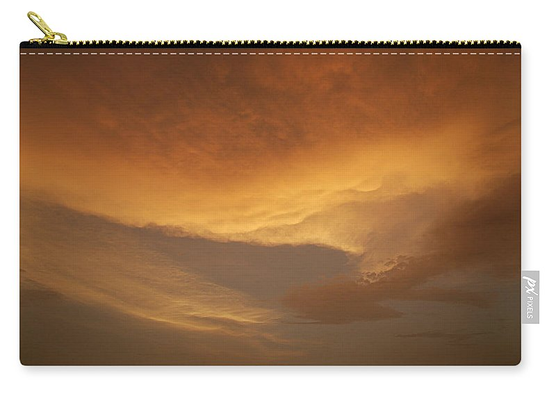 Drama Carry-all Pouch featuring the photograph Skc 0324 Golden Glow by Sunil Kapadia