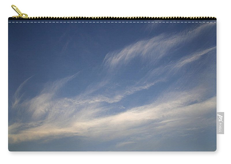 Soft Carry-all Pouch featuring the photograph Skc 0356 Sky Sketching by Sunil Kapadia