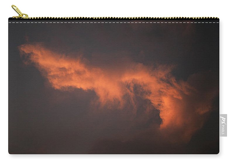 Colors Carry-all Pouch featuring the photograph Skc 0371 Sunset Cloud Color by Sunil Kapadia