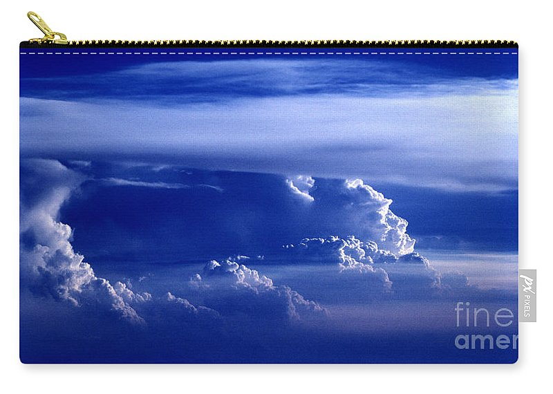 Sky Carry-all Pouch featuring the photograph Sky From Above - 5026 by Paul W Faust - Impressions of Light