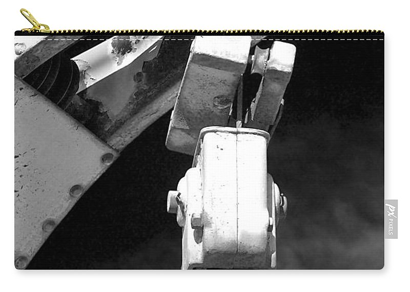 Hook Carry-all Pouch featuring the photograph Sky Hook by Phyllis Denton