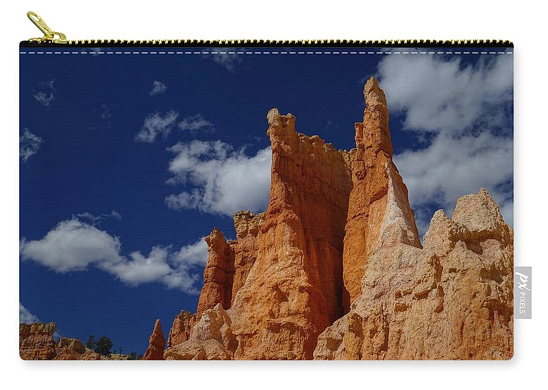 Landscape Carry-all Pouch featuring the photograph Skycastle by Tayne Hunsaker