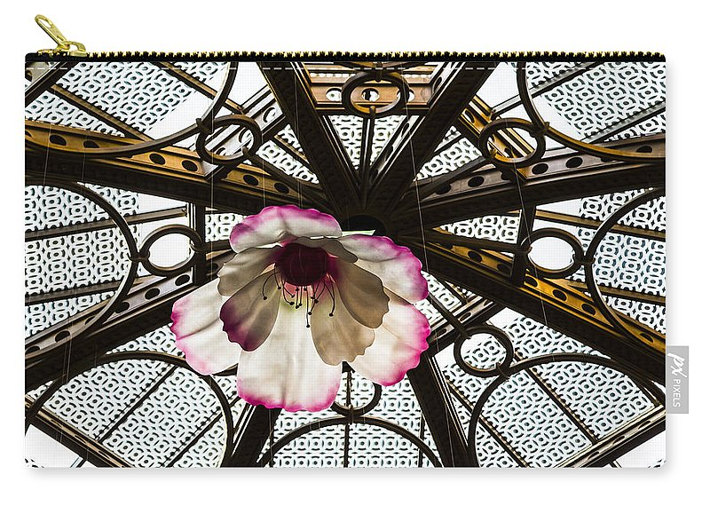 Nevada Carry-all Pouch featuring the photograph Skylight Blossom by Angus Hooper Iii