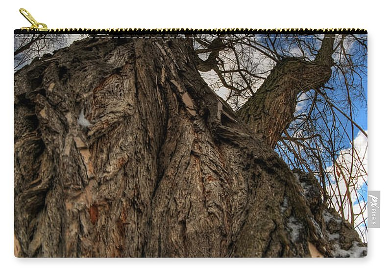 Carry-all Pouch featuring the photograph Sky's The Limit 02 by Michael Frank Jr