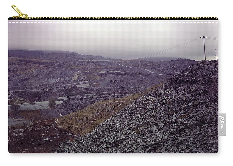 Wales Carry-all Pouch featuring the photograph The Industrial Landscape by Shaun Higson