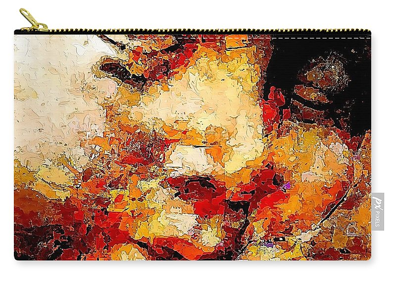 Graphics Carry-all Pouch featuring the digital art Sleep 0377 Marucii by Marek Lutek