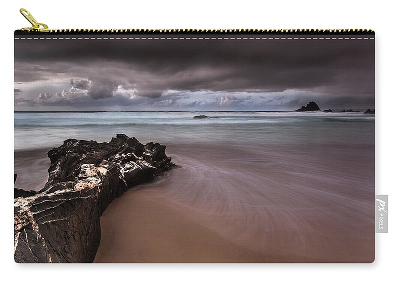 Sea Carry-all Pouch featuring the photograph Sleeping Giant by Edgar Laureano