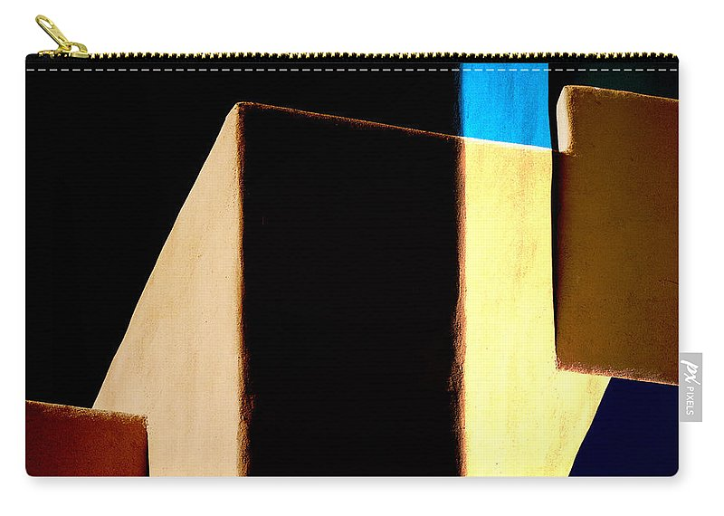 Sky Carry-all Pouch featuring the photograph Slice Of Sky by Carol Leigh