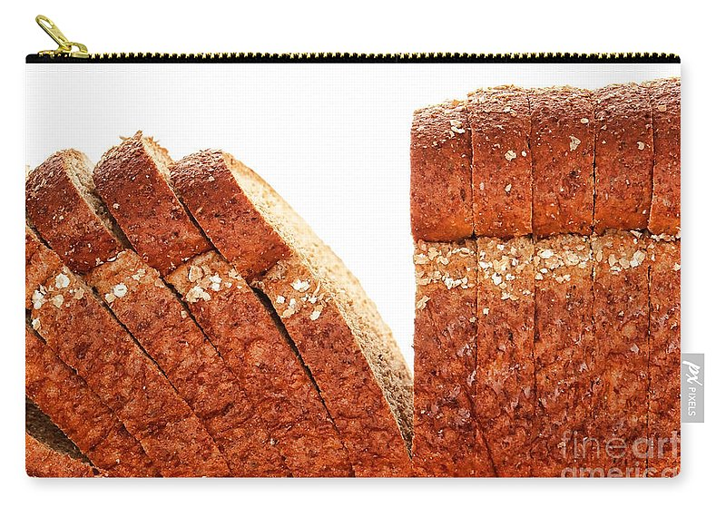 Bread Carry-all Pouch featuring the photograph Sliced Bread by Olivier Le Queinec