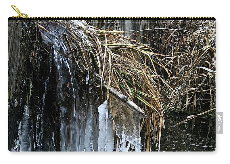 Outdoors Carry-all Pouch featuring the photograph Slow Flow by Susan Herber