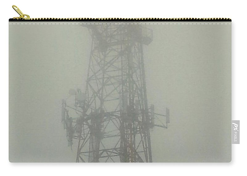 Fog Carry-all Pouch featuring the photograph Smoke Signals by Pablo Rosales