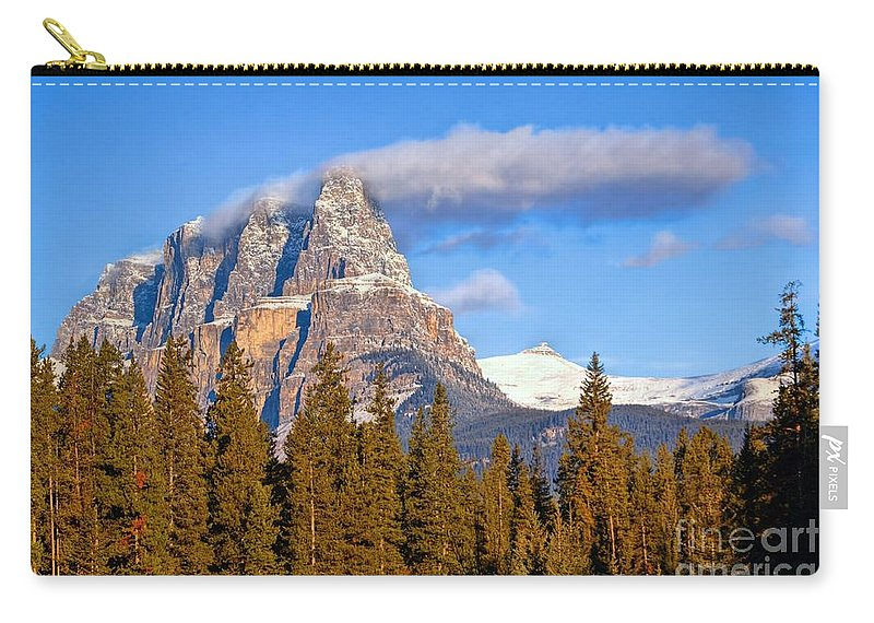 Banff National Park Carry-all Pouch featuring the photograph Smoke Stack by James Anderson