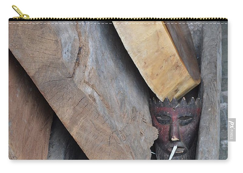 Smoke Carry-all Pouch featuring the photograph Smoke'm If You Got Em by Brian Boyle