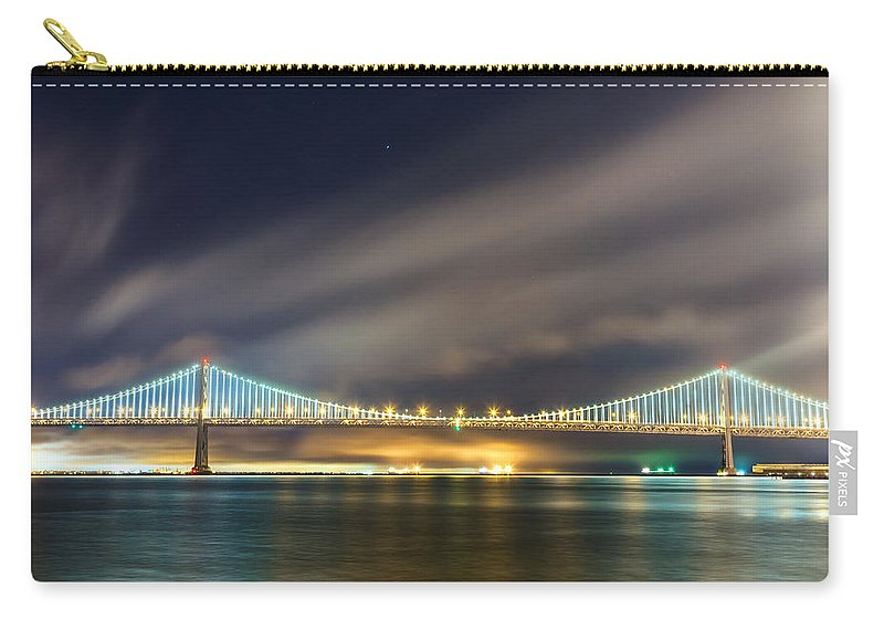 City Carry-all Pouch featuring the photograph Smokey by Jonathan Nguyen
