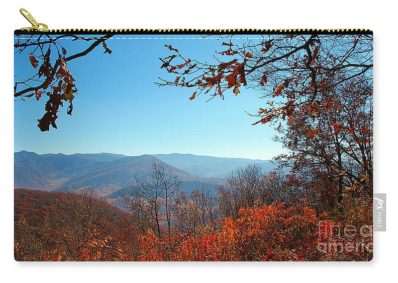 Trees Carry-all Pouch featuring the photograph Smoky Mountains 3 by Nancy L Marshall