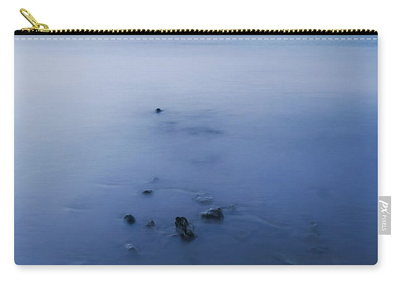 Bay Carry-all Pouch featuring the photograph Smooth Sea by Svetlana Sewell