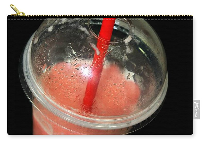 Smoothie Carry-all Pouch featuring the photograph Smoothie by Diana Angstadt