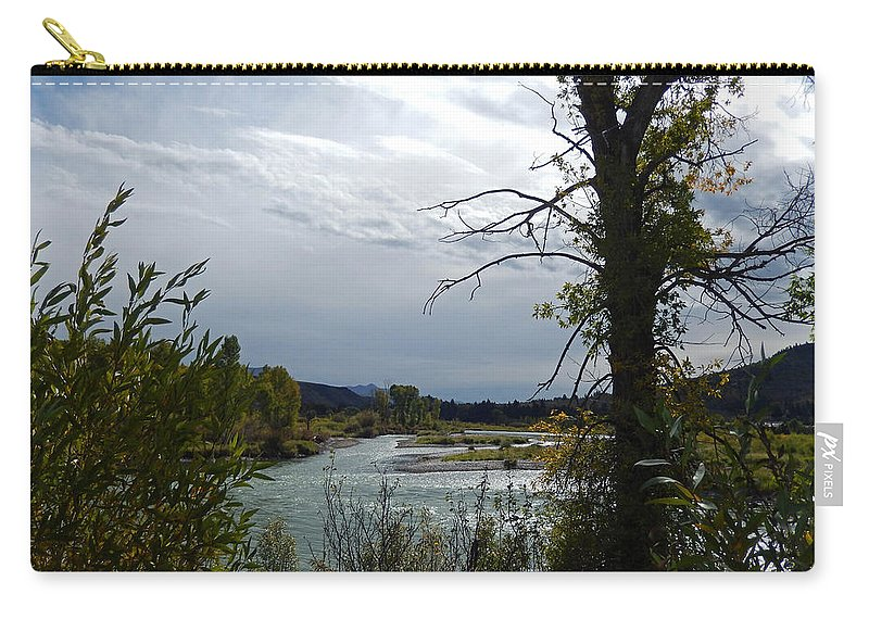 Heather Coen Carry-all Pouch featuring the photograph Snake River by Heather Coen