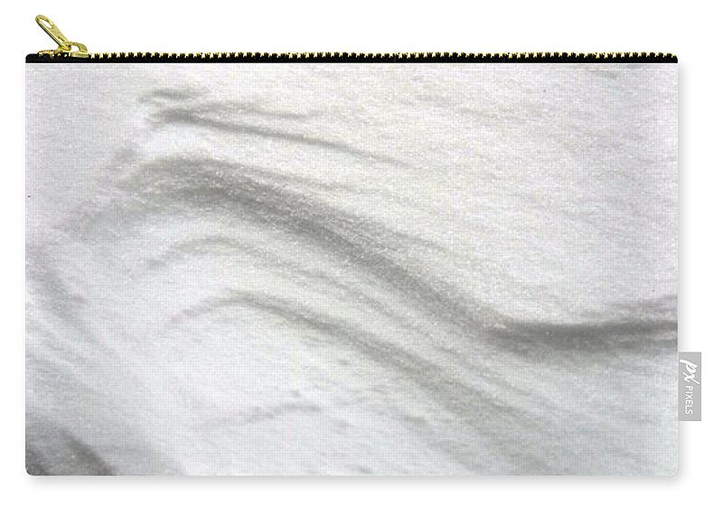 Snow Carry-all Pouch featuring the photograph Snow Drift 02 by Bonnie Myszka