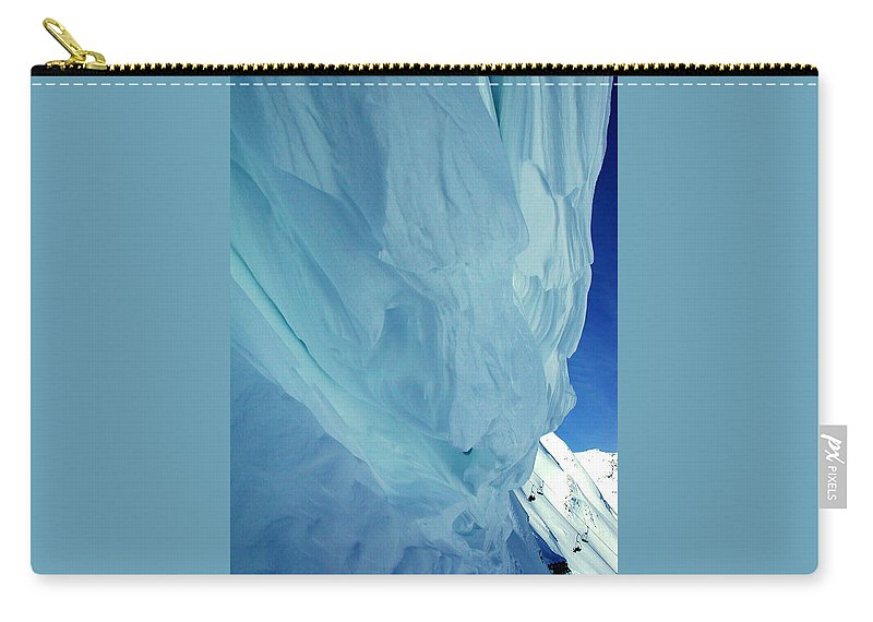 Colette Carry-all Pouch featuring the photograph Snow Naturel Formation Kappl Austria by Colette V Hera Guggenheim