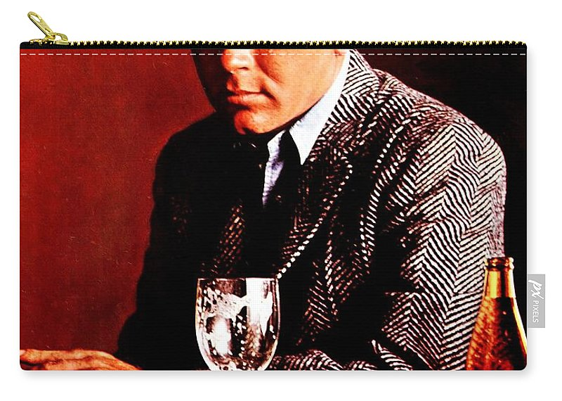 Schlitz Carry-all Pouch featuring the photograph So Sad by Benjamin Yeager