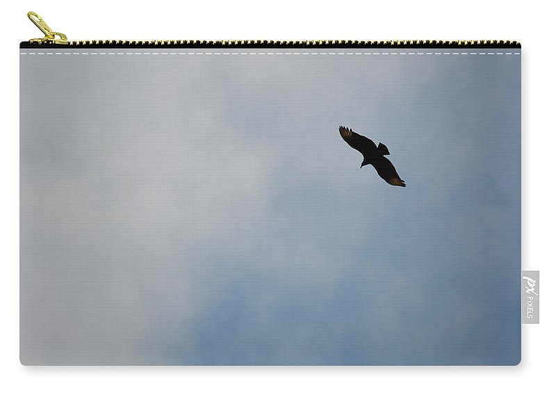 Florida Carry-all Pouch featuring the photograph Soaring by Linda Kerkau