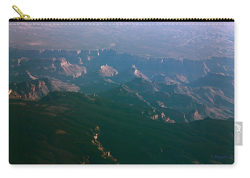 Rocky Carry-all Pouch featuring the photograph Soft Early Morning Light Over The Grand Canyon 5 by Kume Bryant