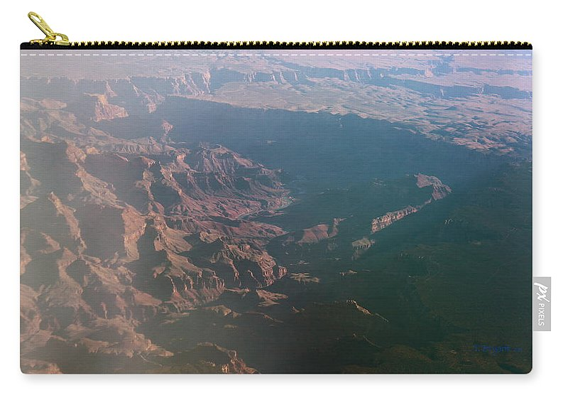 Rocky Carry-all Pouch featuring the photograph Soft Early Morning Light Over The Grand Canyon by Kume Bryant
