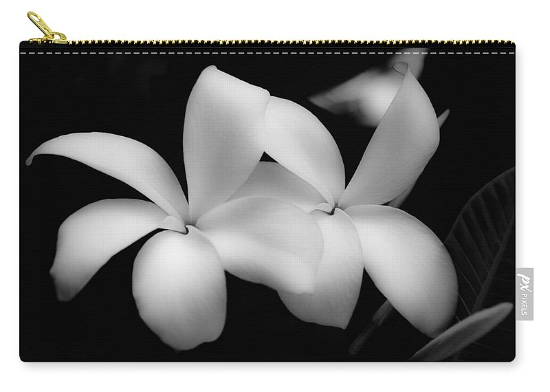 Floral Carry-all Pouch featuring the photograph Soft Floral Beauty by Ron White