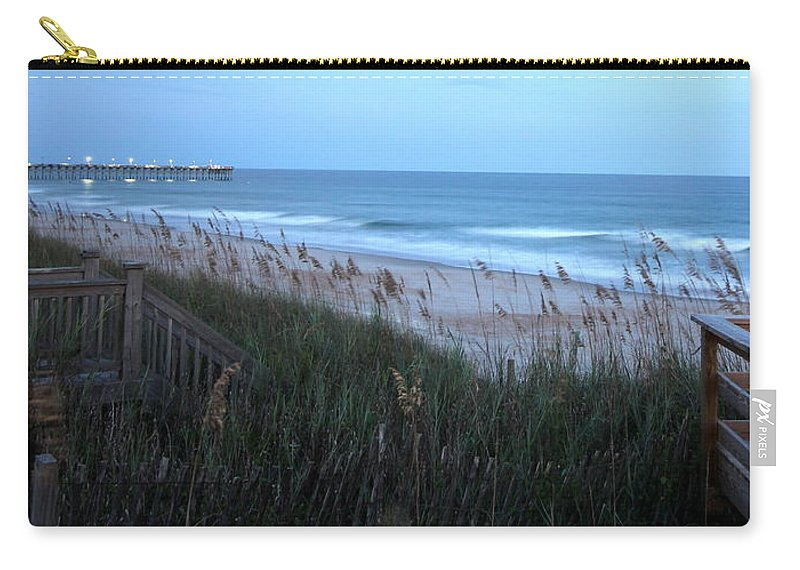 Carry-all Pouch featuring the photograph Soft Ocean by Rand Wall