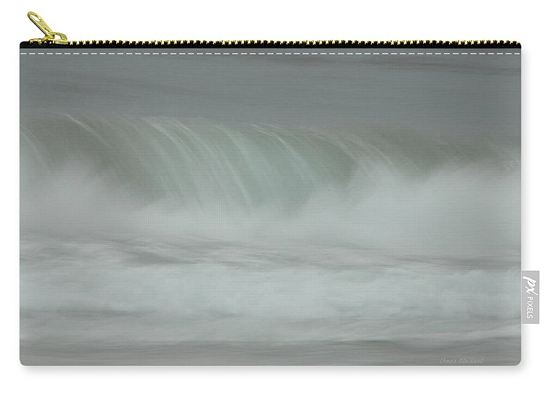Ocean Carry-all Pouch featuring the photograph Soft Touch by Donna Blackhall